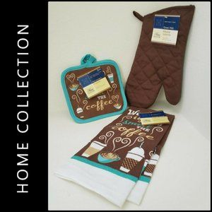 Home Collection Oven Mitt Kitchen Towel Pot Holder